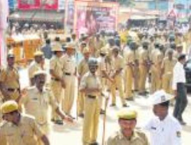 Security heightened for Aakrosh Day