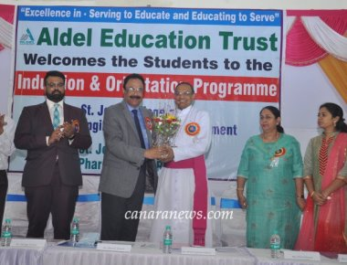 12th Induction Programme of St. John Technical and Educational Campus held on Monday, 19th August, 2019