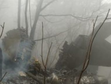 Algerian military plane crashes near a base