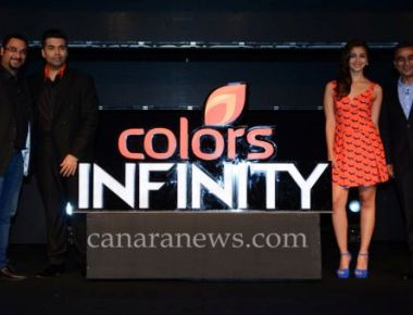 "The launch of COLORS Infinity ""First Indian TV Premiere"""