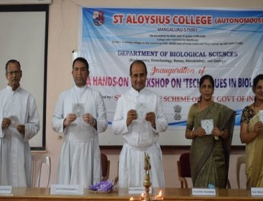Hands-on workshop on 'Techniques in Biological Sciences' held at SAC