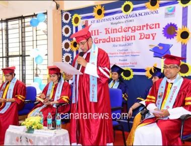 St Aloysius Gonzaga holds kindergarten graduation ceremony