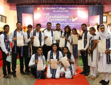 6th graduation ceremony held at St Aloysius College