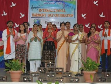 St Aloysius B Ed College observes Harmony Day