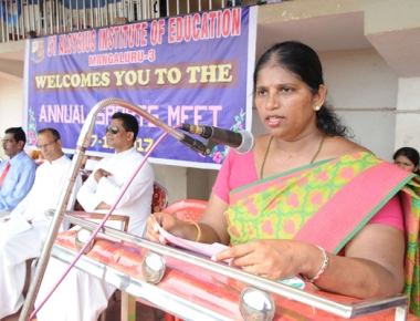 St Aloysius BEd College holds annual sports meet