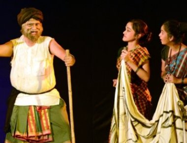 St Aloysius College participates in State level Drama Competition