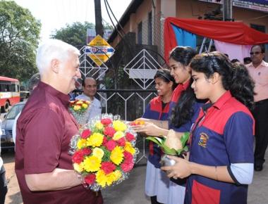 Superior general Fr Arturo Sosa visits St Aloysius ITI
