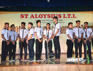 Mangaluru: Annual day of St Aloysius Industrial Training Institute was celebrated on Friday.