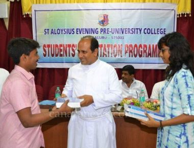 Cause donates books to less privileged students of St Aloysius College