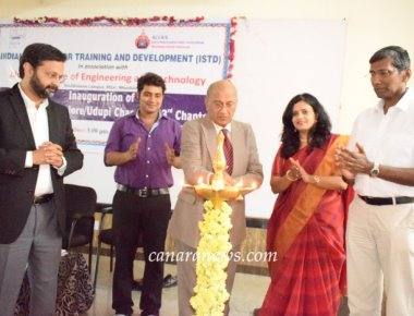 Indian Scoiety for Training and Development (ISTD) chapter inaugurated at Alva's Engineering College
