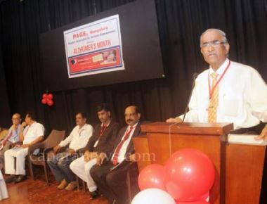 World Alzheimer's Month programme inaugurated at Town Hall