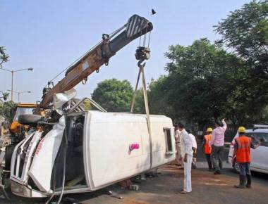 Thane accident claims unborn baby