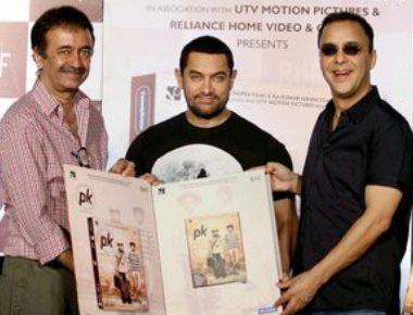 Aamir, Anushka celebrate 'PK's China success