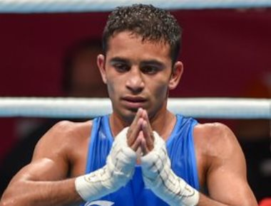 Amit outwits Olympic champ to claim India's only boxing gold at 18th Asiad