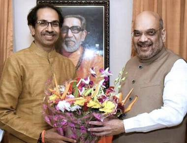Day after meeting Shah, Uddhav takes a dig at BJP