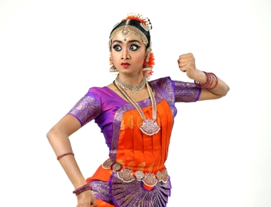 Sankeerna school of Dance Dubai 's student Deeksha Raj 's bharathanatyam Arangetrum on August 4th.