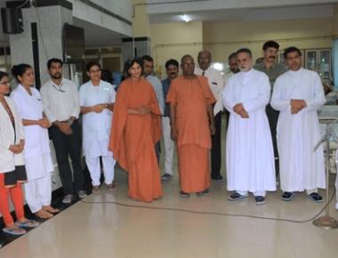 Anandashram Trust donates dialysis machine to Father Muller Medical College Hospital