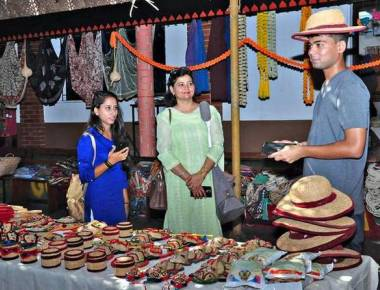 Rural craftsmanship on display at Namma Angadi