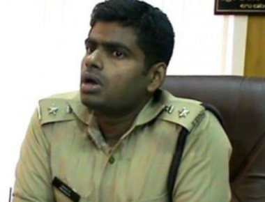 SP Annamalai raids club in Chikkamagaluru; four policemen caught in raid
