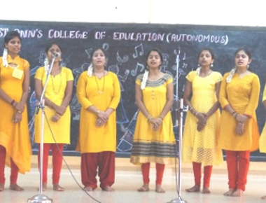 St Ann's College of Education celebrates two day cultural competitions