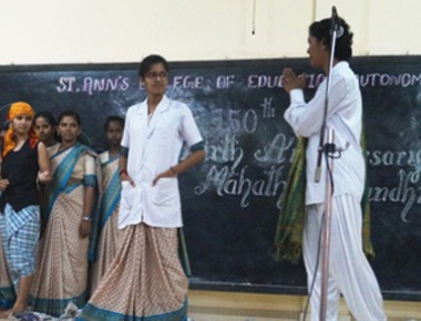 St Ann's College celebrates 150th birth anniversary of Mahatma Gandhi