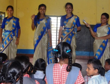 St Ann's College of Education conducts service learning programme