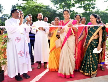 The Annual day celebration of St .Lawrence hr.pry.School