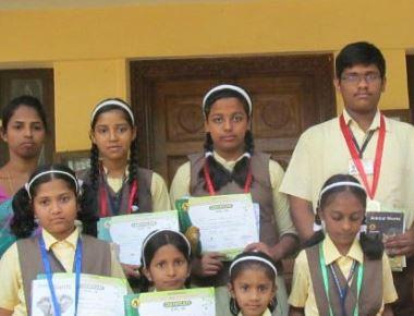 St. Antony School bags rank in Science examination