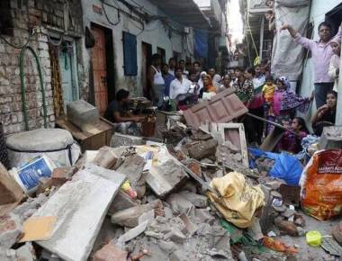 5 hurt in Antop Hill house collapse in Mumbai