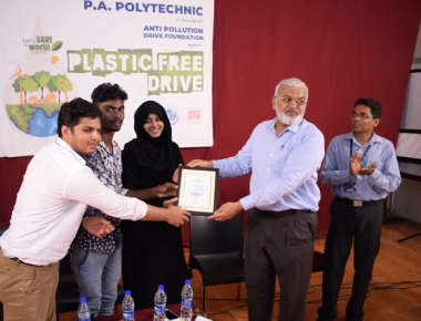 APD Foundation conducts plastic-free drive at PA Polytechnic