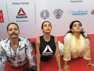 Actor Arbaaz khan & Actress Malaika Arora khan at 3rd International Day