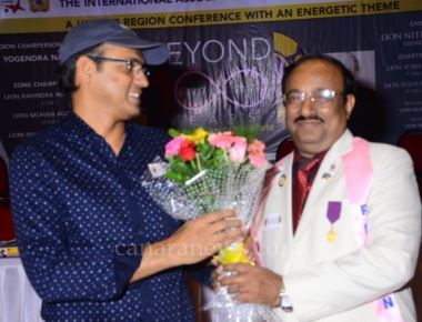 Mr Sriram Iyengar, production Designer, Art Director of Bajirao Mastani was Honoured