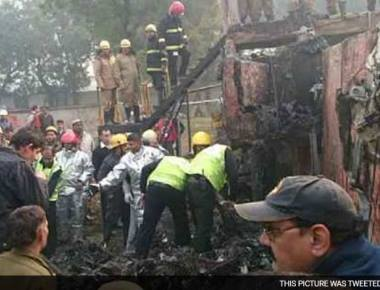 10 Including 3 BSF Officers Dead As Plane Crashes Near Delhi Airport