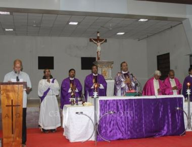 Ash Wednesday observed in Milagres Cathedral with Solemnity