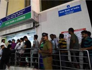 Banks closed on Monday; queues get longer at ATMs
