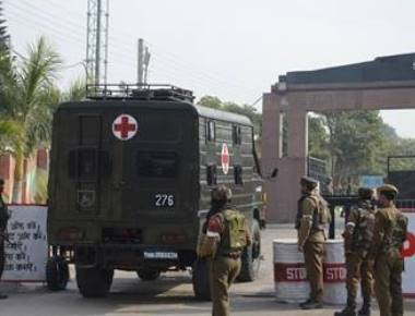 Two killed as militants storm family quarters of Jammu army camp