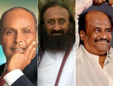 Padma Vibhushan for Dhirubhai Ambani, Shri Shri Ravi Shankar, Rajinikanth; Anupam Kher, Vinod Rai among Padma Bhushan awardees