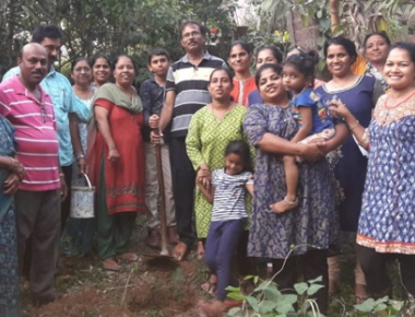 Jackfruit sapling planted in St Theresa parish as protection to environment