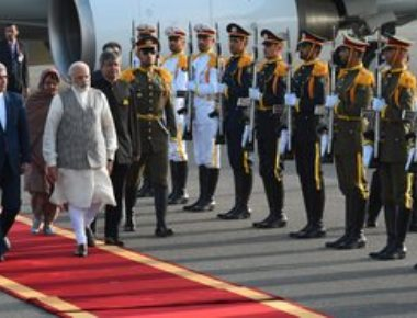 Modi arrives in Iran; aims to boost economic, cultural ties