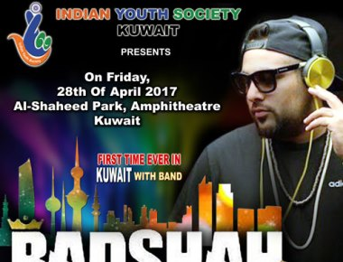 King of Rap – BADSHAH to perform live in Al-Shaheed Park with his full band
