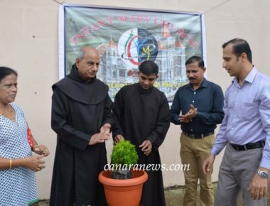 Green Day observed at Infant Mary Church, Bajjodi