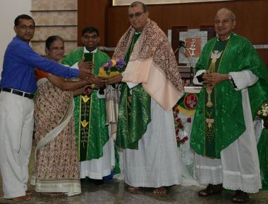New Provincial, Councillors and Superior felicitated at Infant Mary Parish, Bajjodi