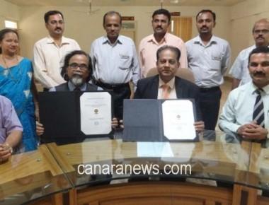 Bantakal Engineering College signs MoU with NEF, Washington DC