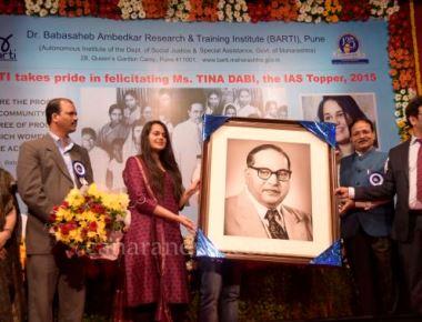BARTI, Pune, organized a grand felicitation ceremony of Ms. Tina Dabi