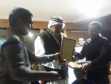 Bearys cultural forum picnic gathering felicitated retired Major General Mr. Ali Khamis