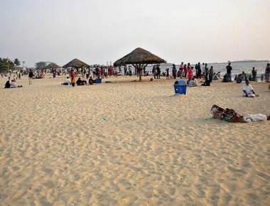 Para beach volleyball event on Malpe beach