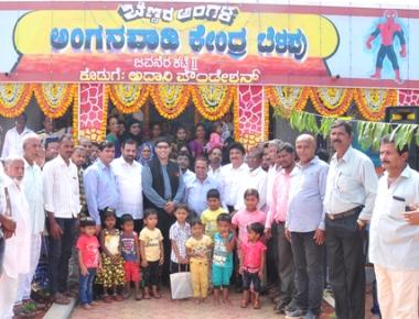 Belapu gets new Anganawadi centre under CSR grant of Adan