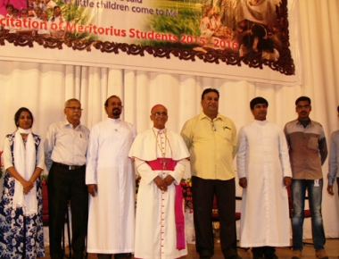 Fr Bernard Moras completes 12 years as archbishop