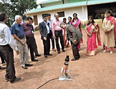 ISRO space exhibition attracts students