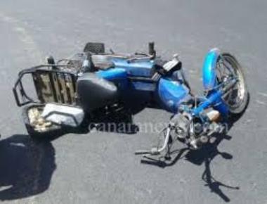 40-year-old dies after lorry rams motor bike